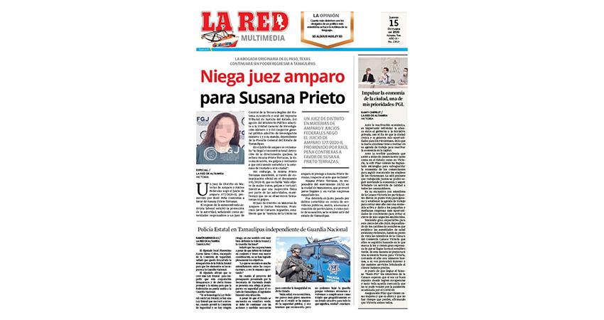 Niega juez amparo para Susana Prieto