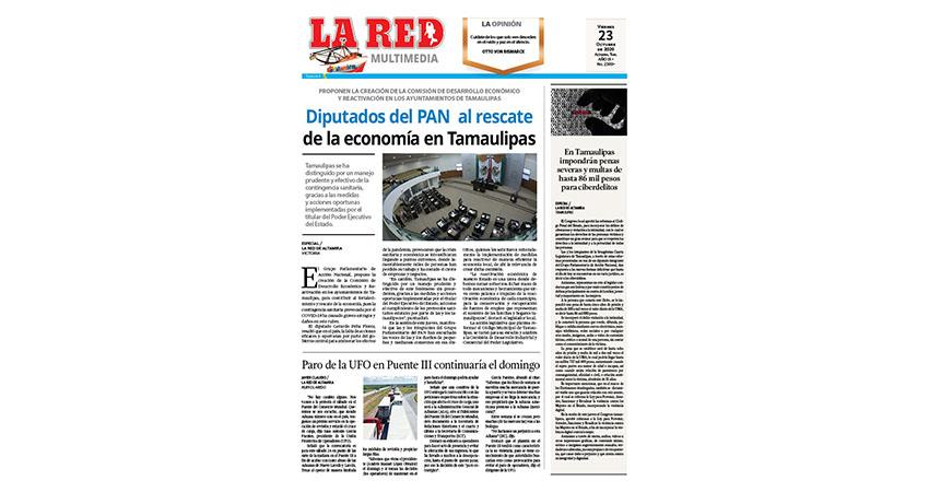 Diputados del PAN al rescate de la economía en Tamaulipas
