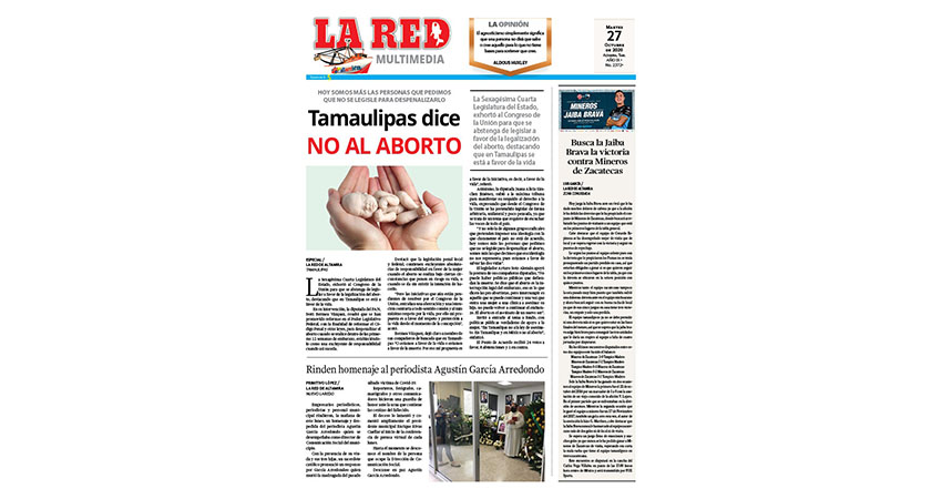 Tamaulipas dice NO al aborto