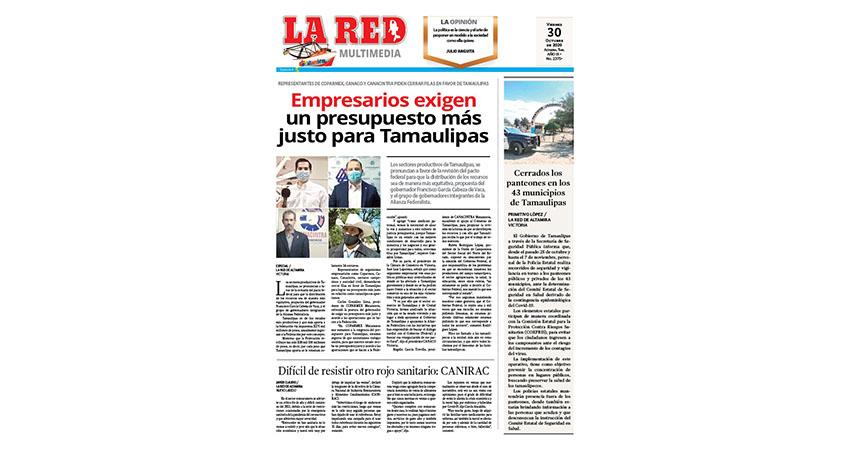 Empresarios exigen presupuesto más justo para Tamaulipas