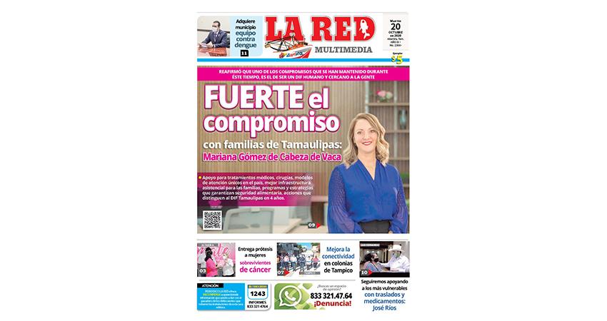 Fuerte el compromiso con familias de Tamaulipas: Mariana Gómez de Cabeza de Vaca