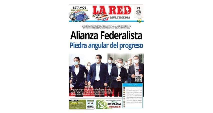 Alianza Federalista piedra angular del progreso