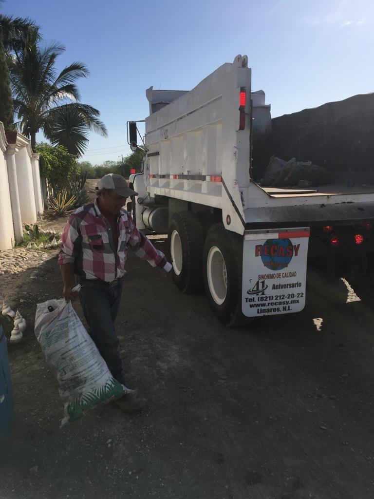 Aplican descacharrización autoridades ejidales y ayuntamiento en Miguel Hidalgo