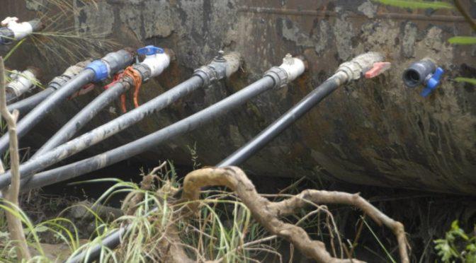 Multas hasta de 4 mil pesos para quien instale tomas clandestinas de agua