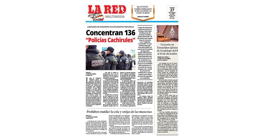 """Concentran 136 """"Policías Cachirules"""""""
