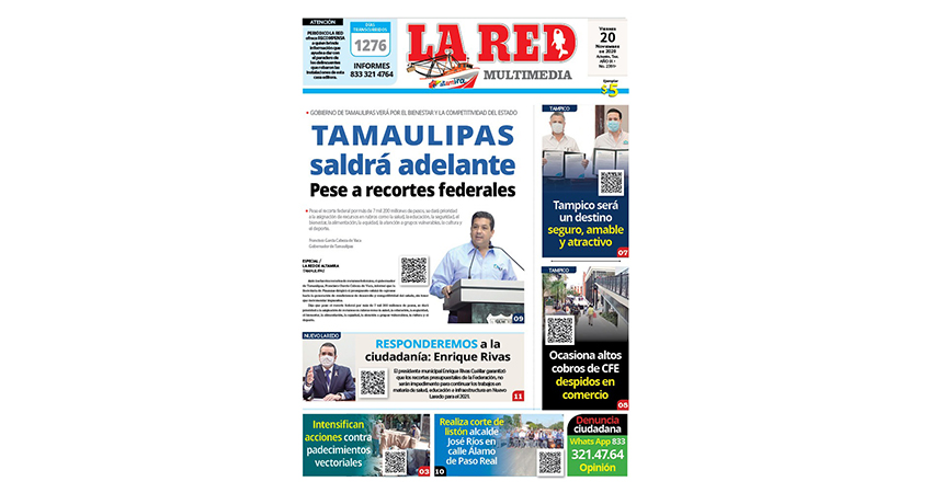 Tamaulipas saldrá adelante pese a recortes federales