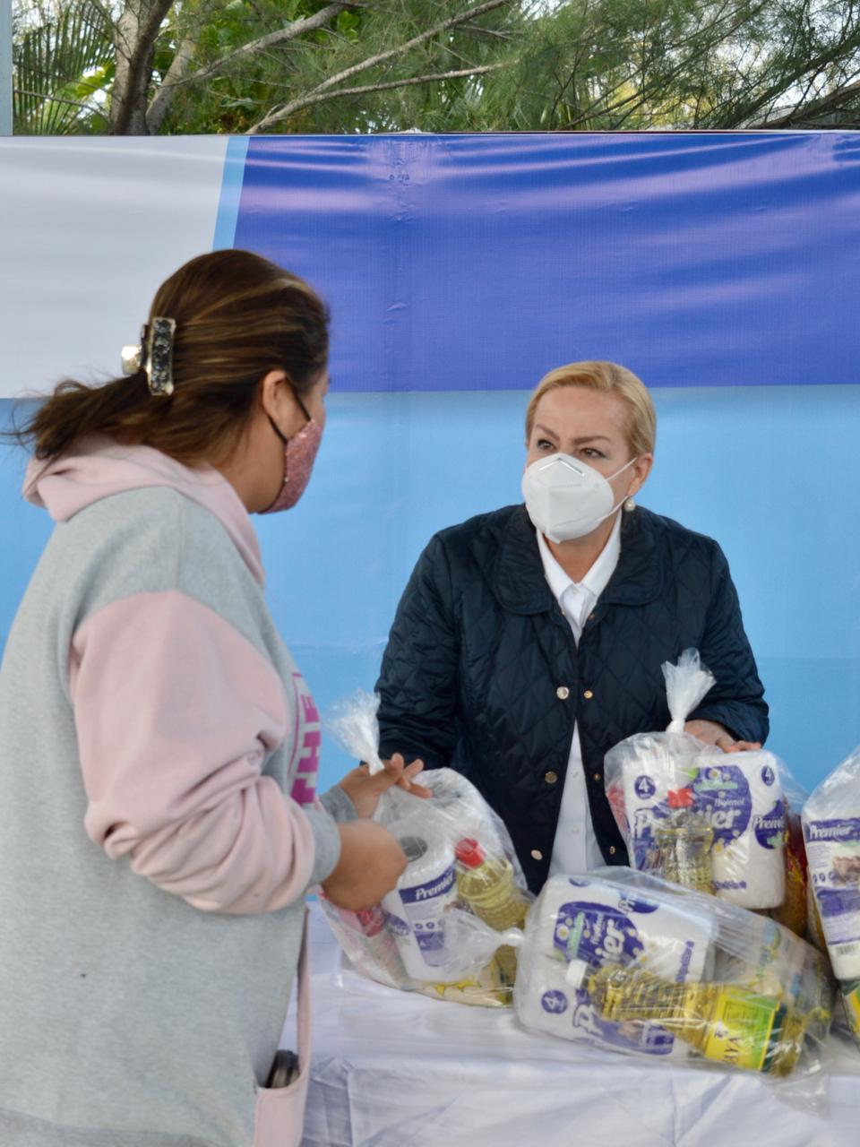 Distribuye Altamira más de 9 mil paquetes alimenticios
