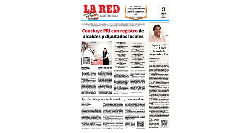 Concluye PRI con registro de alcaldes y diputados locales