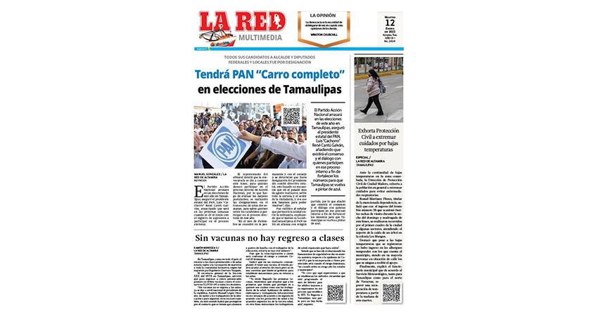 """Tendrá PAN """"Carro completo"""" en elecciones de Tamaulipas"""