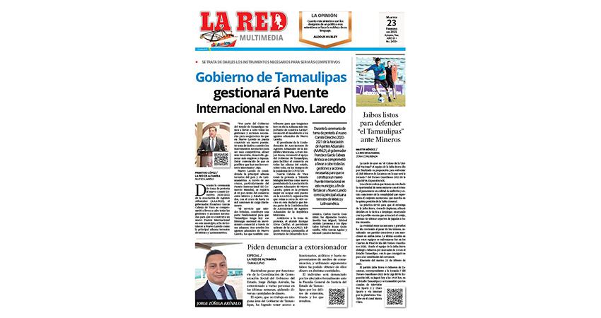 Gobierno de Tamaulipas gestionará Puente Internacional en Nvo. Laredo