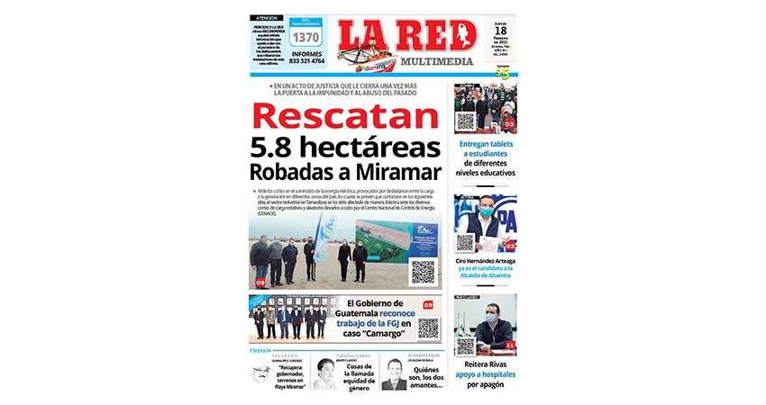 Rescatan 5.8 hectáreas robadas a Playa Miramar