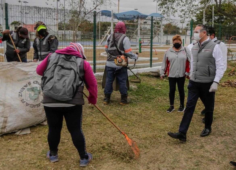 Rescate de espacios públicos en Madero no se detiene