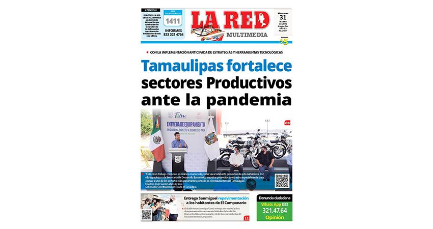 Tamaulipas fortalece sectores productivos ante la pandemia