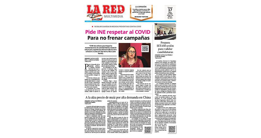 Pide INE respetar al COVID para no frenar campañas