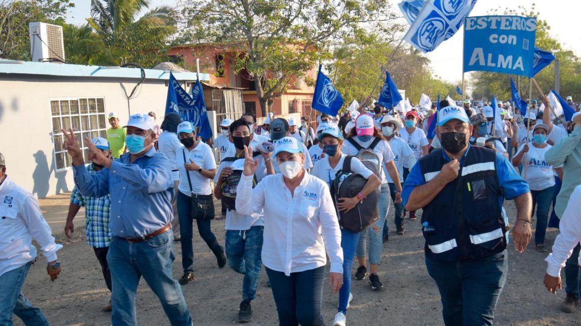 Apoyan residentes de Esteros proyecto de Alma Laura Amparan