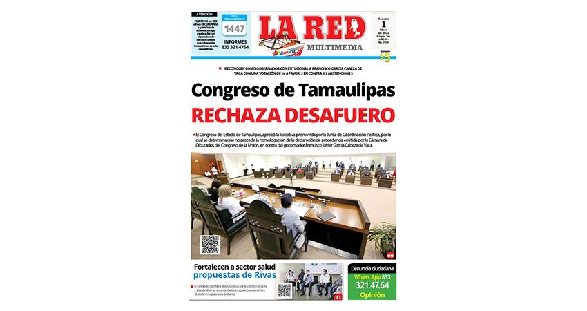 Congreso de Tamaulipas Rechaza Desafuero