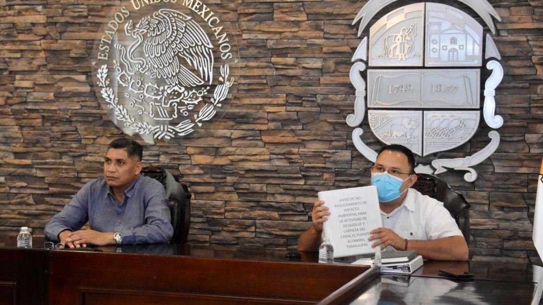 Atiende problemática del agua en zona sur de Tamaulipas
