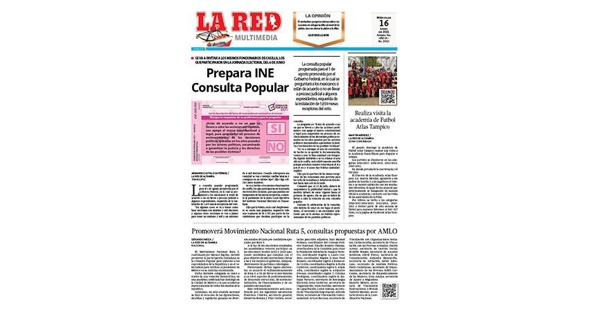 Prepara INE Consulta Popular