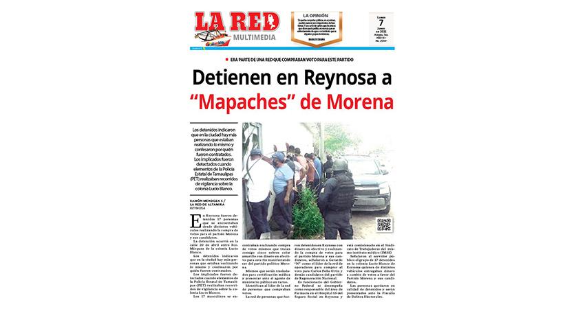 """Detienen en Reynosa a """"Mapaches"""" de Morena"""