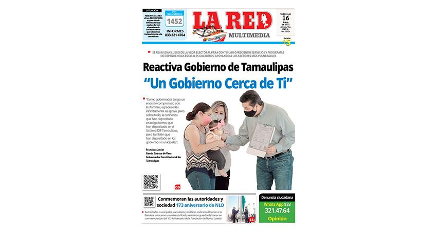"Reactiva Gobierno de Tamaulipas ""Un Gobierno Cerca de Ti"""