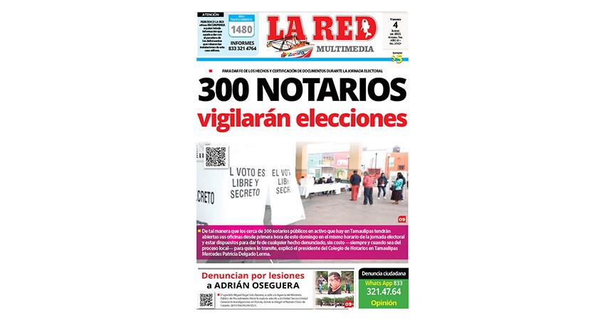300 notarios vigilarán elecciones