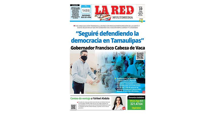"""""""Seguiré defendiendo la democracia en Tamaulipas"""" Gobernador Francisco Cabeza de Vaca"""