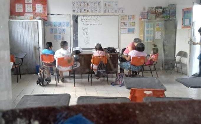 Investigan a primaria en Madero por convocar a clases presenciales