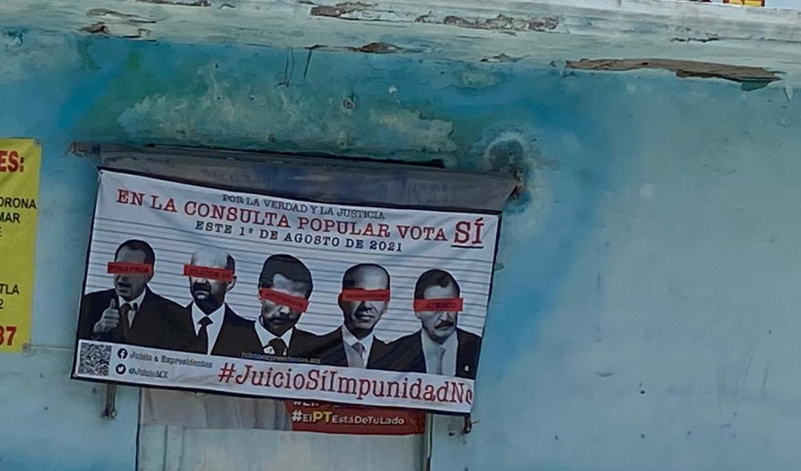 En San Fernando listos para consulta popular contra expresidentes