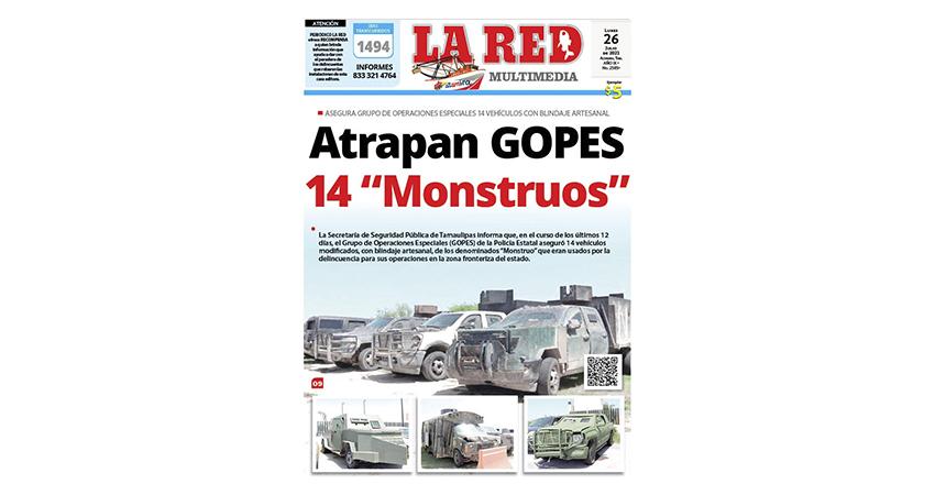 "Atrapan GOPES 14 ""Monstruos"""