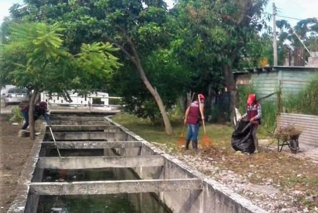 Gobierno de Madero intensifica programa de limpieza en drenes pluviales