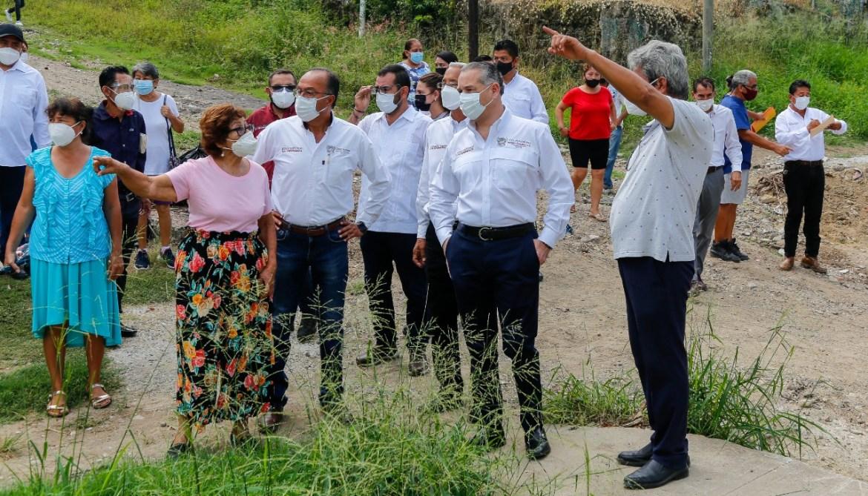 Continúa alcalde con trabajo de campo en Ciudad Madero