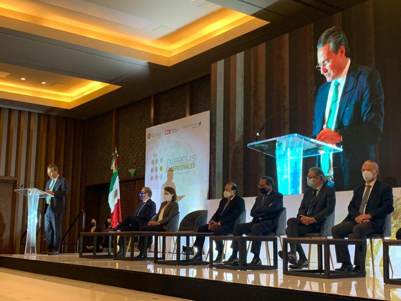 """Secretaría de Turismo Tamaulipas recibe el """"Reconocimiento Empresas Excepcionales"""""""