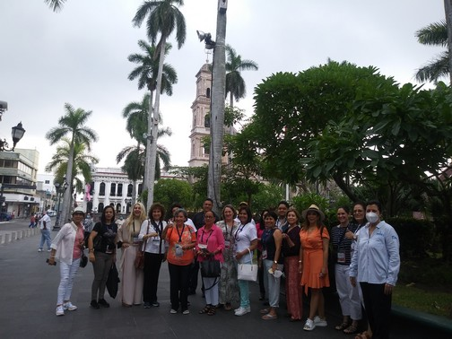 RecorrenconvencionistasdeCANACINTRAatractivos de Tampico