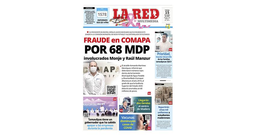 FRAUDE en COMAPA por 68 MDP Involucrados Monje y Raúl Manzur