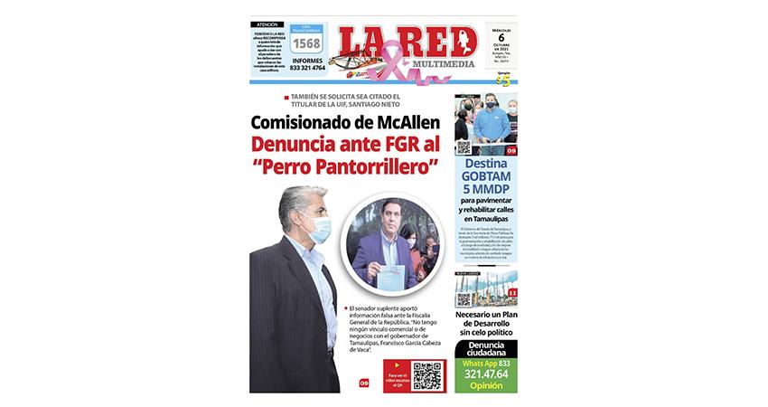 """Comisionado de McAllen denuncia ante FGR al """"Perro Pantorrillero"""""""