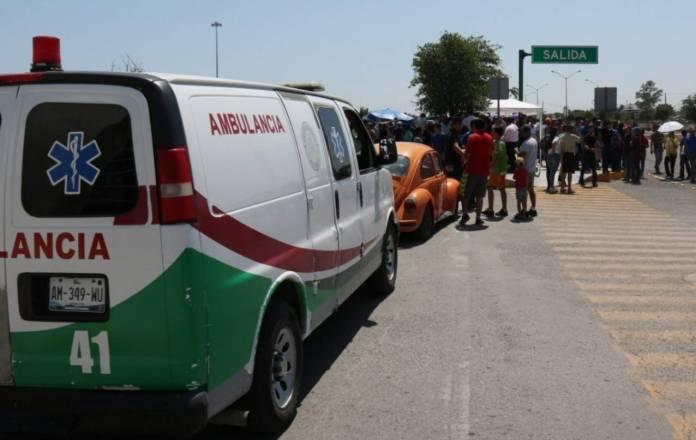 Ambulancia Protección Civil