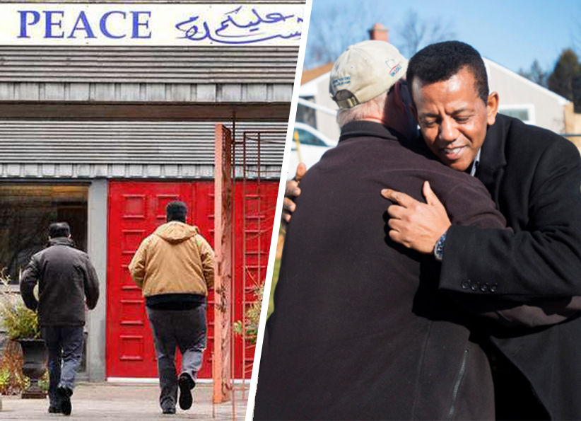 Au Canada quand une mosquée brûle, c'est une synagogue qui ouvre ses portes