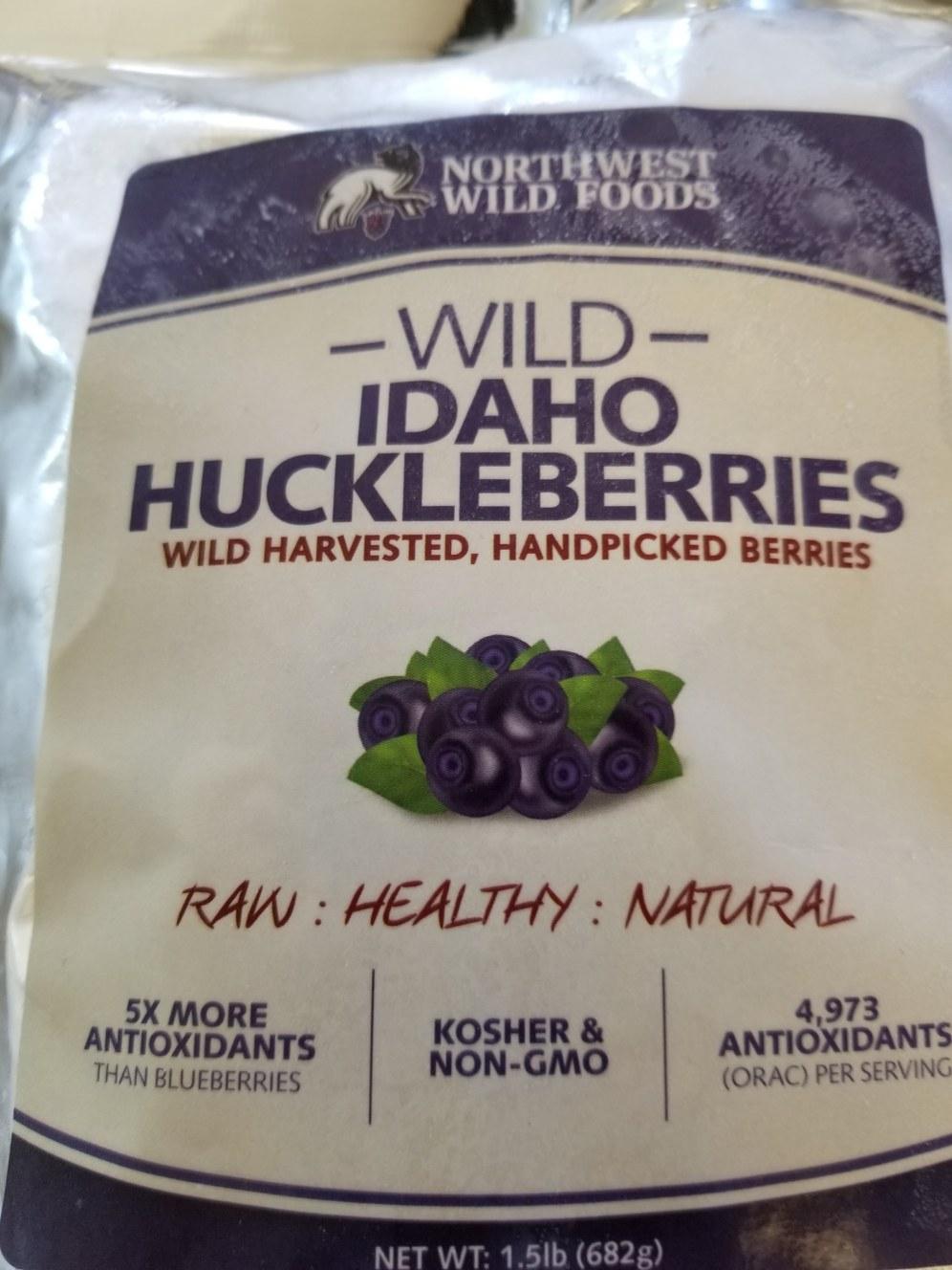 Wild Huckleberries