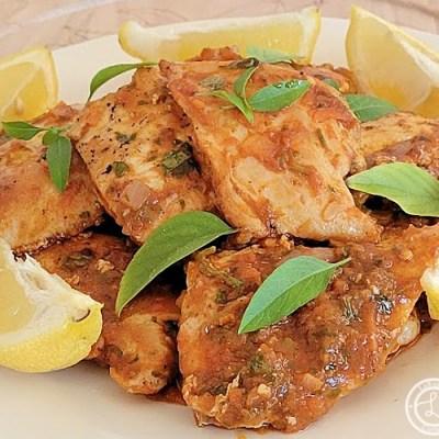 Fusion Moroccan Chicken