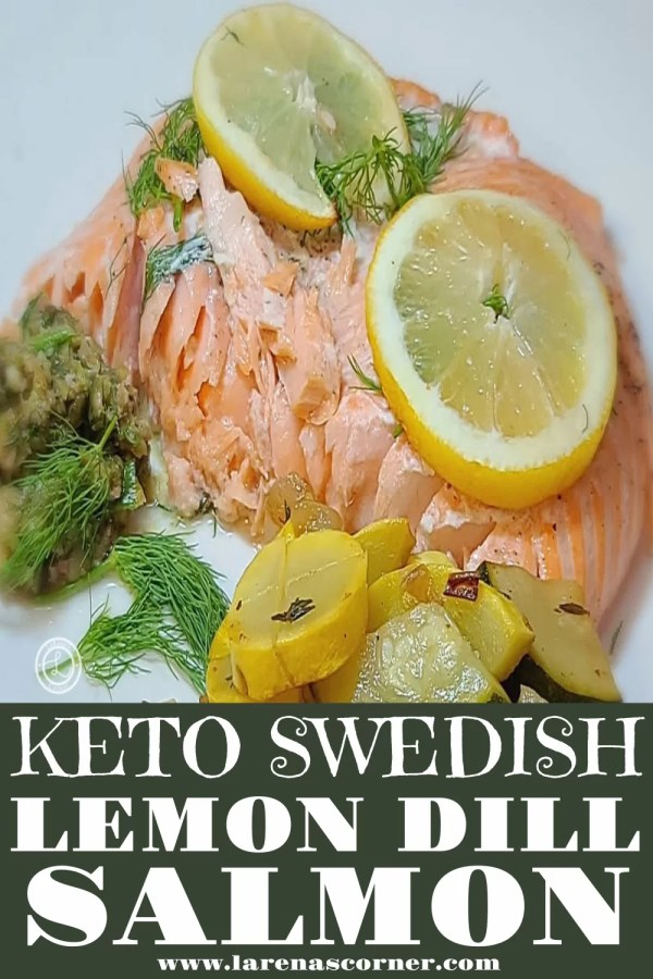 Keto Swedish Lemon Dill Salmon
