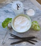 Powdered Monkfruit and powdered vanilla monkfruit sweeteners