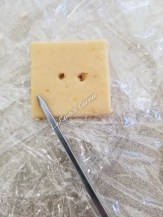 Making Holes in the cracker