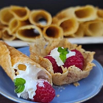 Gluten-Free Krumkakor Norsk Cookies
