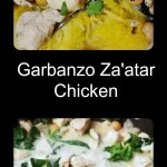 Tasty, decadent and full of flavor Garbanzo Za'atar Chicken, with wilted spinach in a creamy chicken broth, lemon, and coconut milk sauce. Quick and easy