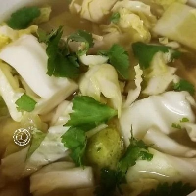 Chicken Cabbage Radish Soup