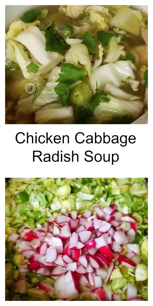 Chicken Cabbage Radish Soup