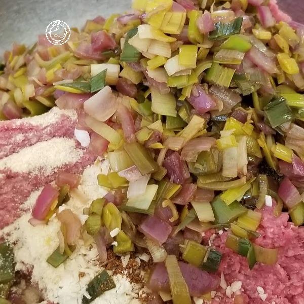 Keto Buffalo Meatloaf needing to be combined