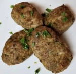 4 Croquettes of cooked Moroccan Kefta