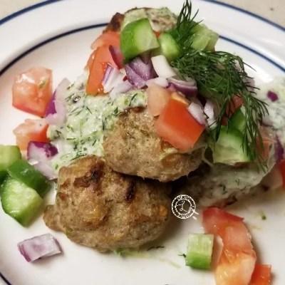 Gluten-Free Greek Turkey Meatballs