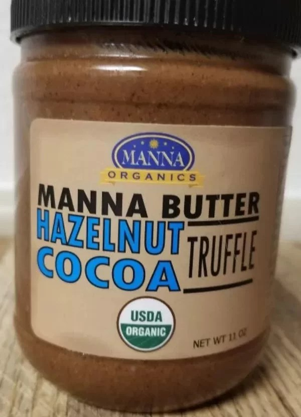 The label on the front of the Jar